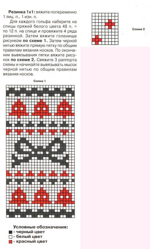 Схема вязания   лофотенские носочки drops 181-12 lofoten socks