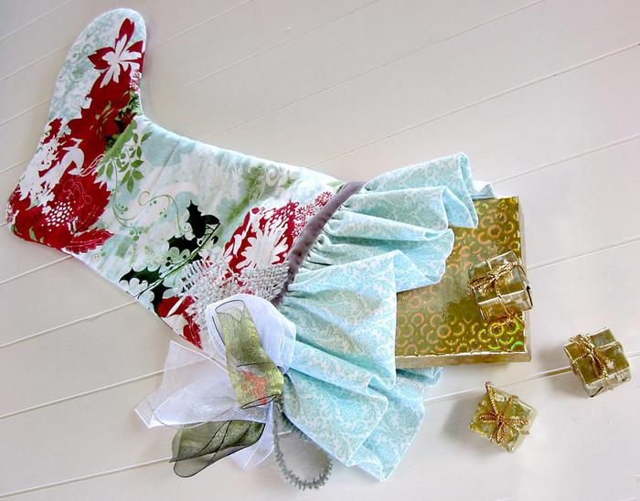 Рождественский сапожок... есть желающе для сп - лоскутное шитьё - страна мам