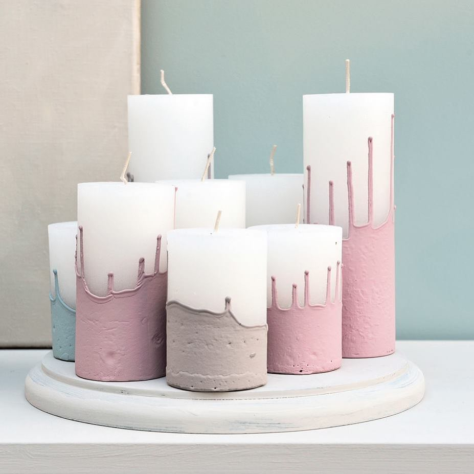 Свечи своими руками: пошаговая инструкция, виды декоративных свечей