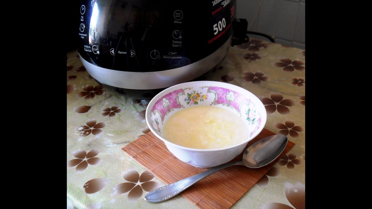 Как приготовить молочную кашу в мультиварке: рецепт приготовления