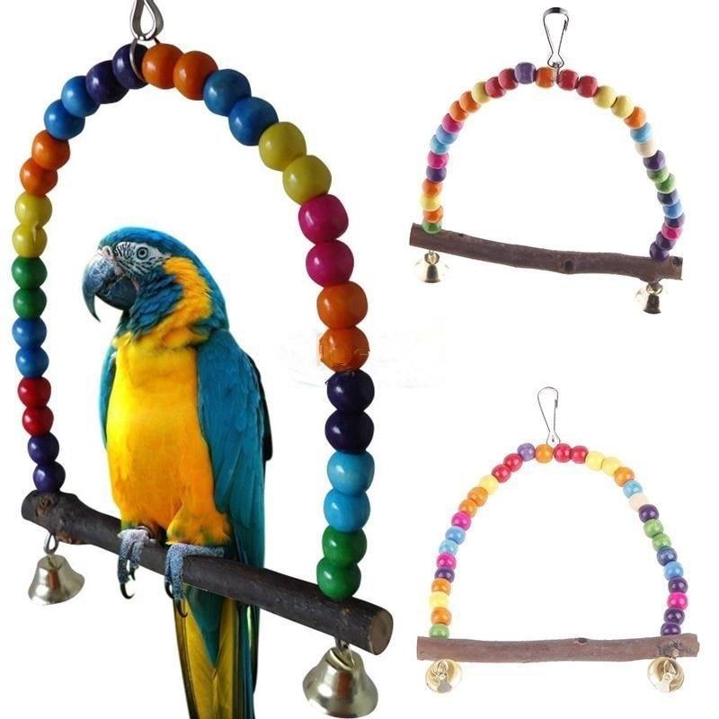 Игрушки для попугаев – зачем они нужны? какие бывают? из чего их сделать?