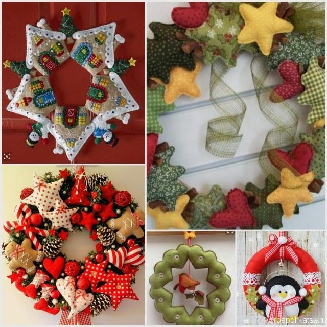 Рождественская звезда. игрушки и аксессуары из фетра