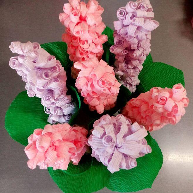 Цветы из гофрированной бумаги, страница 12