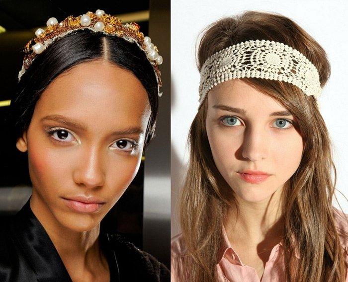 Ободок для волос: как носить трендовое украшение женщинам за 40