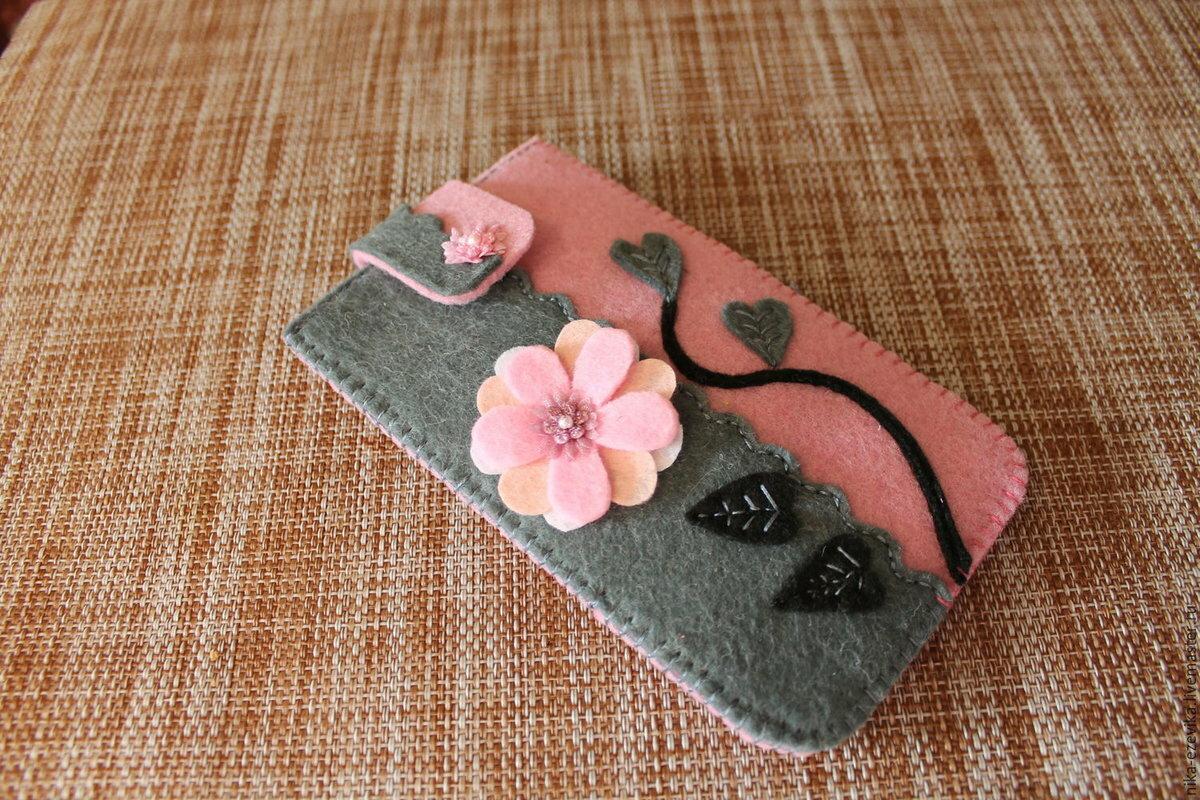 Изготовление чехла для телефона своими руками: как сшить аксессуар из фетра и кожи, выкройка ключницы