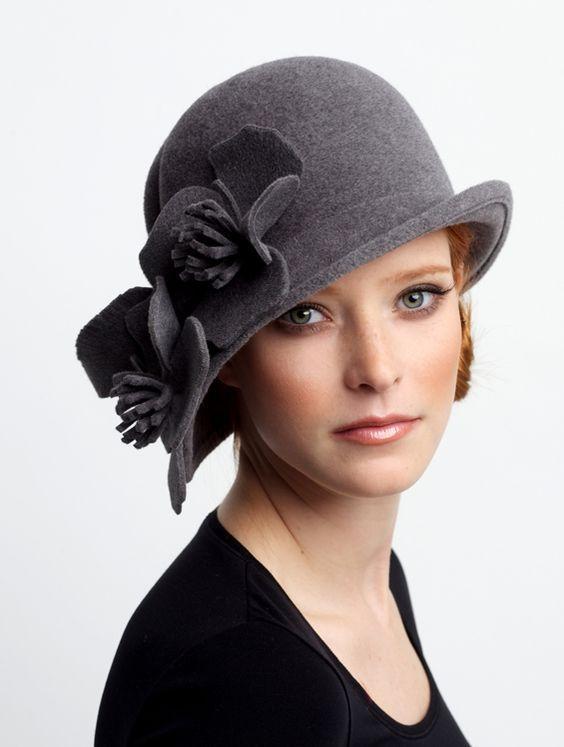 Шляпы из фетра: лучшие варианты на 40 фото