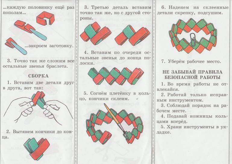 Как сделать браслет: схемы плетения красивого украшения на каждый день