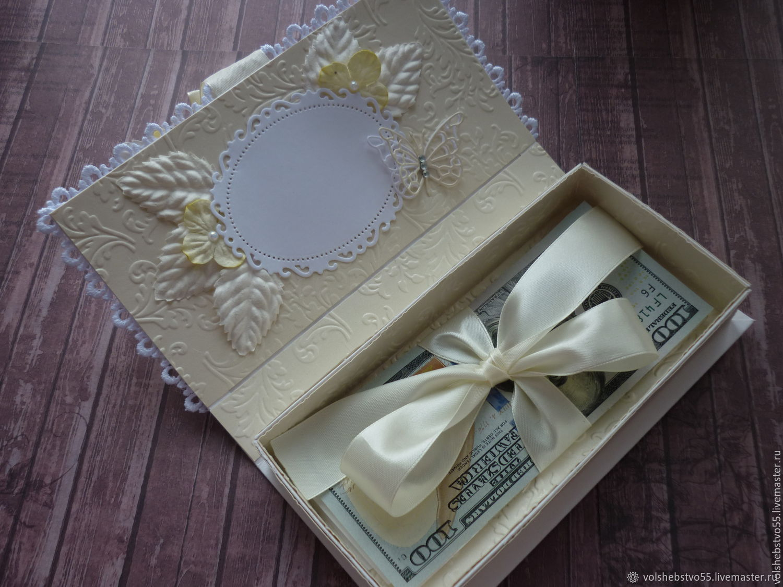 Шкатулка для денег на свадьбу, подробные мастер-классы с фото