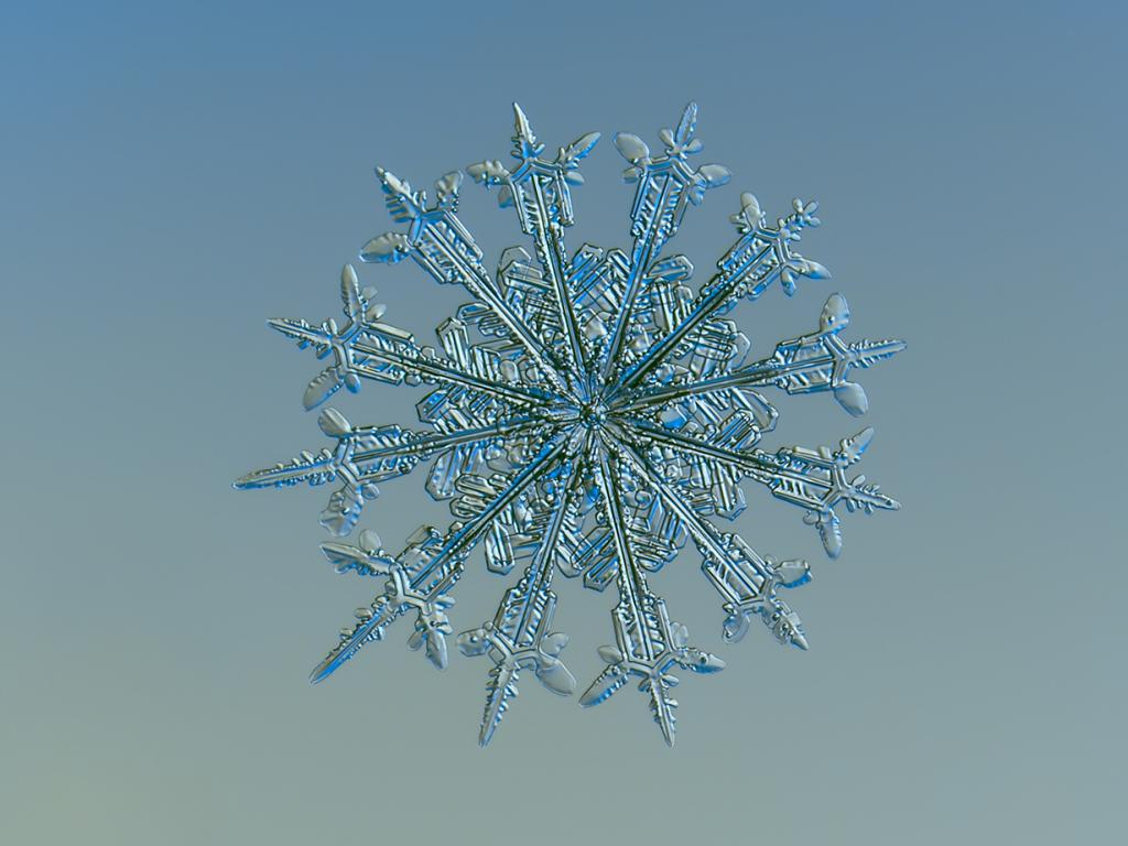 Как сделать 6 конечную снежинку из бумаги