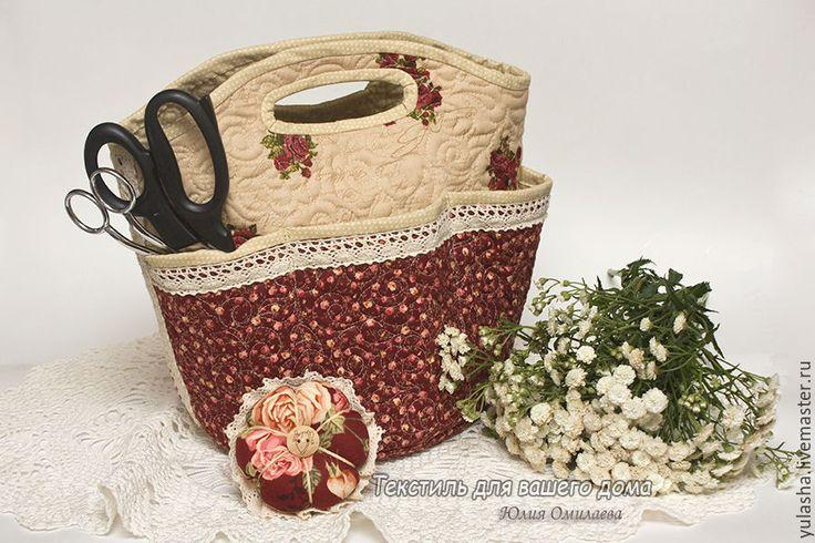 Поделка изделие день рождения плетение корзинка для рукоделия трубочки бумажные