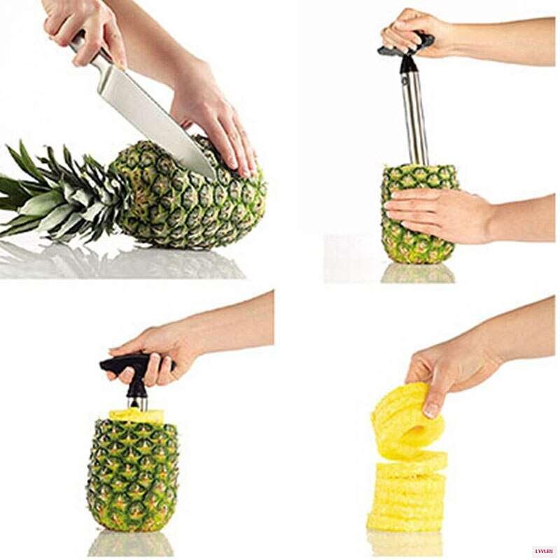 Как чистить и нарезать ананас: 5 способов | блог comfy
