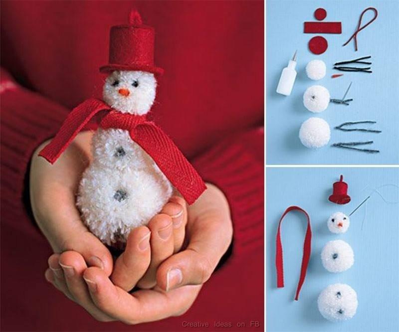 Поделка снеговик из подручных материалов — пошаговая инструкция и простой мастер-класс (100 фото лучших идей)