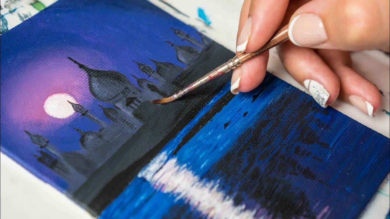 Техника акриловой живописи