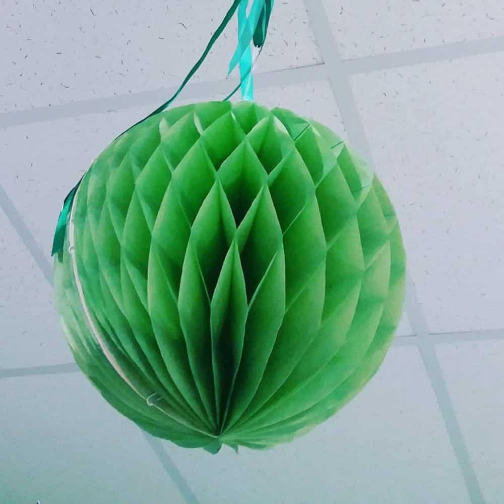 Бумажный шар своими руками – шары из бумаги своими руками