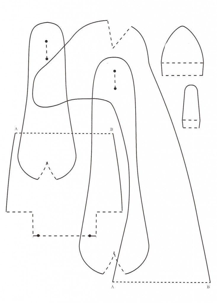Сшить козу куклу в стиле тильда. козочка тильда из ткани