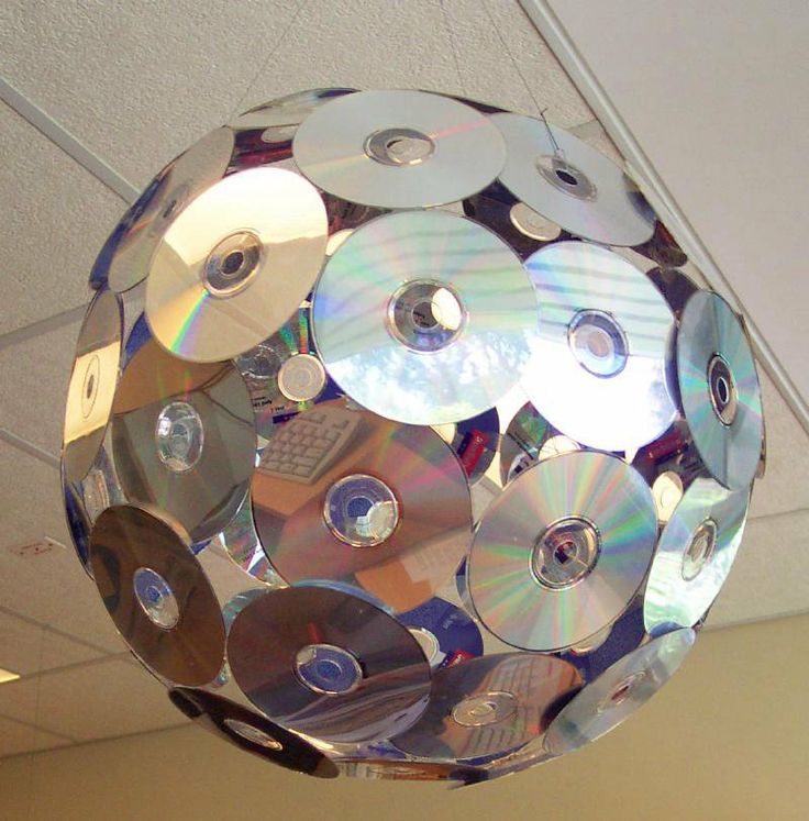 Диски. поделки из cd дисков