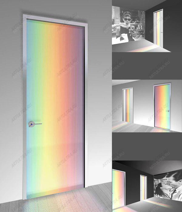 Как самостоятельно подключается подсветка металлической двери?