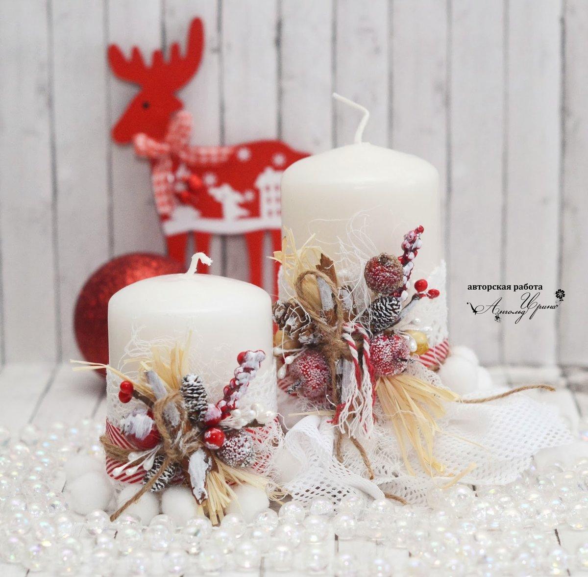 Красивые свечи: необычный декор для дома