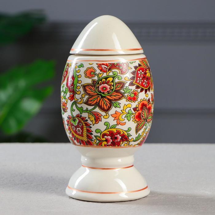 Яйцо в технике папье-маше