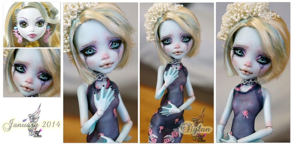 Делаем куклу монстр хай. демонесса ооак из старой куклы курс для начинающих делать кукол ооак