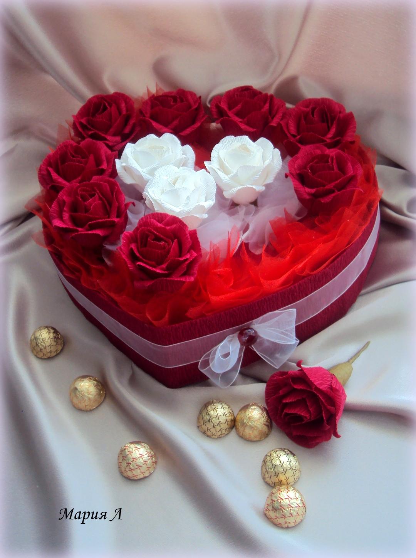 Поделка изделие валентинов день вышивка крестом моделирование конструирование шкатулочки ко дню святого валентина бисер бусины клей кружево нитки поролон скотч ткань