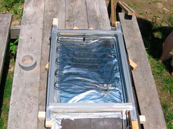 Как собрать и изготовить солнечный коллектор своими руками