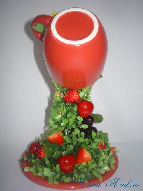 75 оригинальных идей декора кружки полимерной глиной