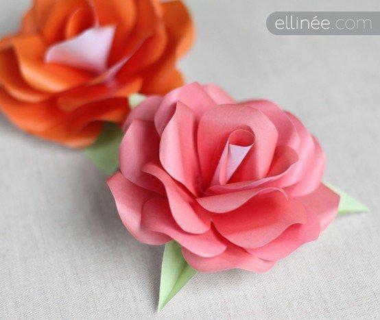 Оригами роза для начинающих — варианты сборки розы. маленькая розочка, фигурная роза, роза из бумажных спиралей, «живая» роза