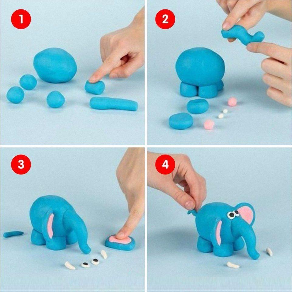 Как сделать самому воздушный пластилин~ def4onki