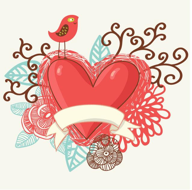 Стих-валентинка - сборник красивых стихов в доме солнца