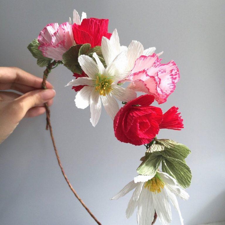 Поделки цветы - подборка лучших идей с инструкцией по реализации (105 фото)