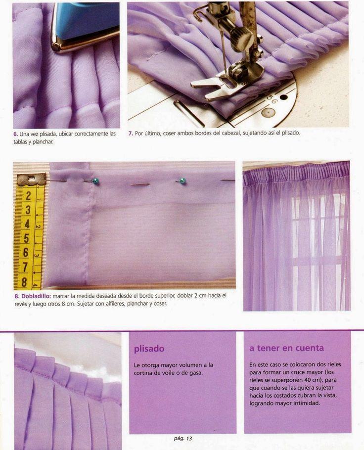Как своими руками сшить занавески из тюля: мастер класс