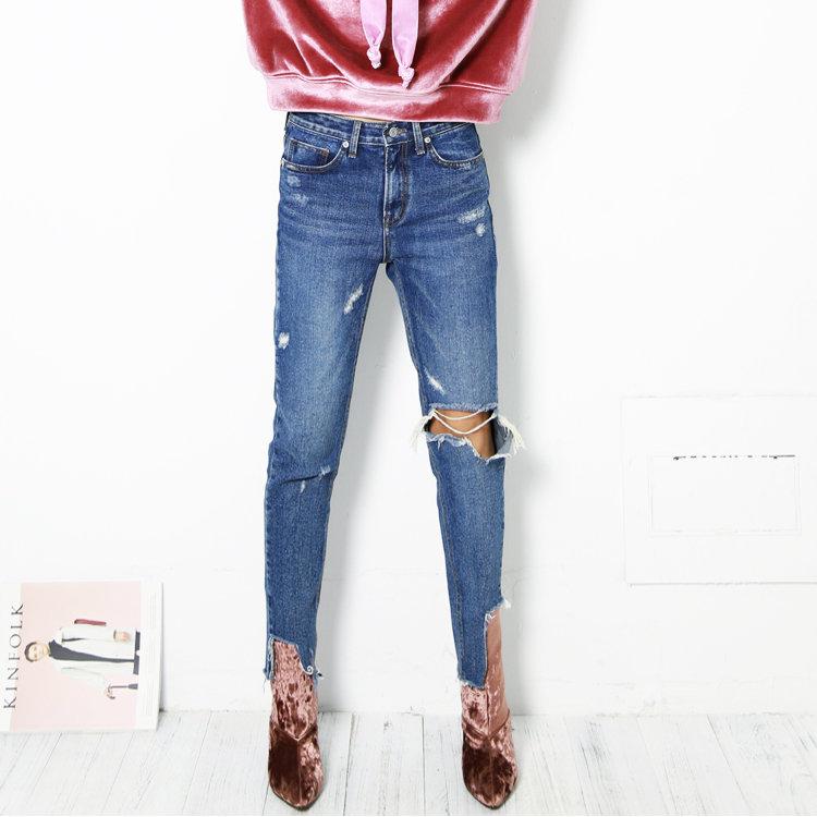 Как обрезать джинсы своими руками: фото-идеи и мастер-классы