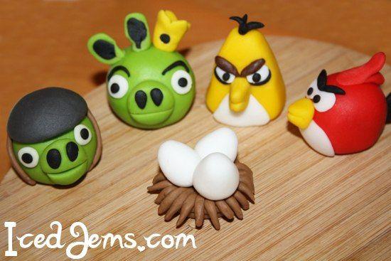 Поделки — птицы своими руками из разных материалов. птички angry birds из соленого теста