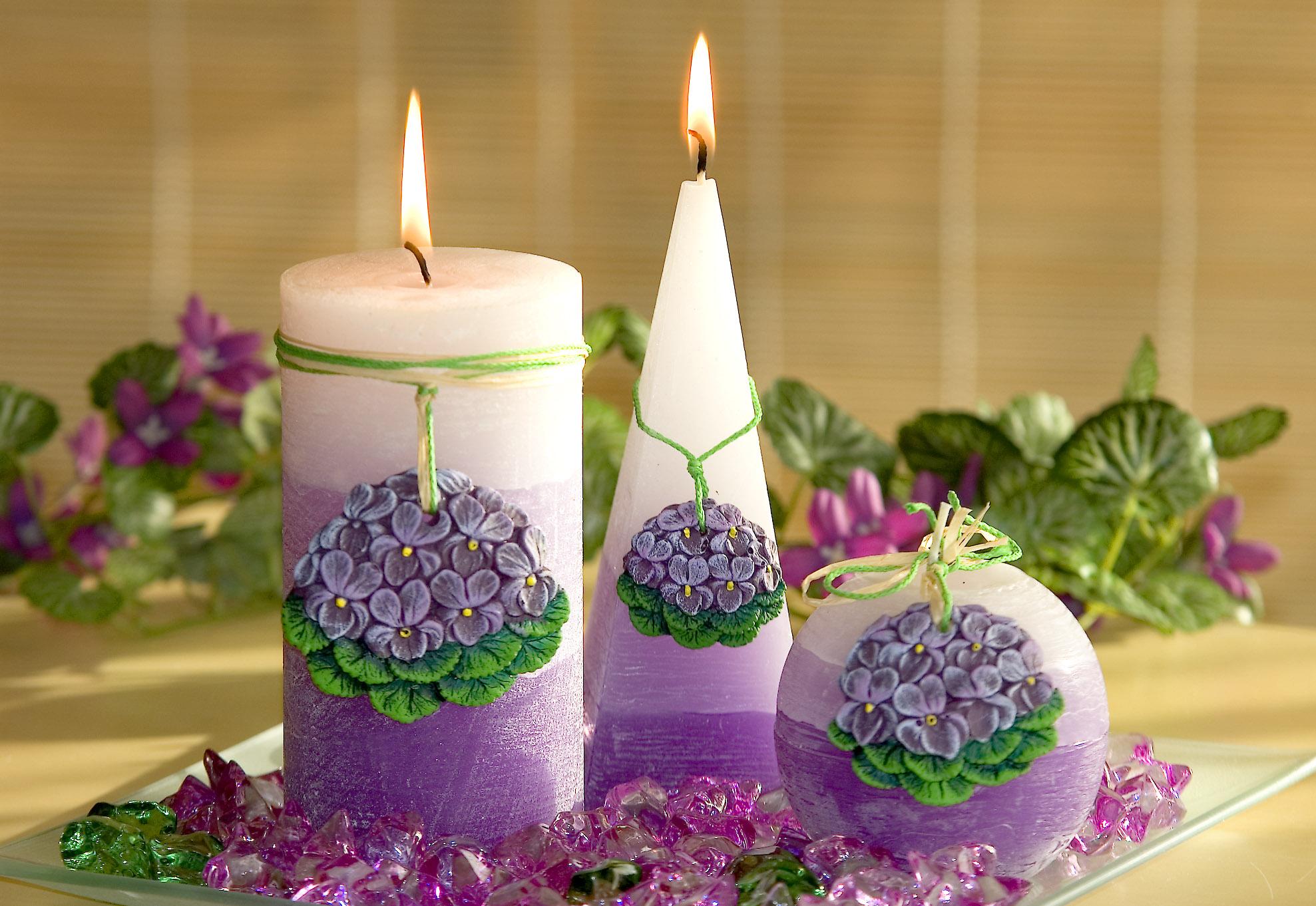Декоративные свечи своими руками: 95 фото-идей, как сделать в домашних условиях