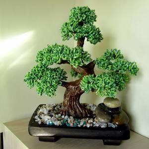 Как сделать дерево из бисера своими руками для новичков и начинающих: пошаговая инструкция с фото. схемы плетения красивых деревьев из бисера: мастер класс