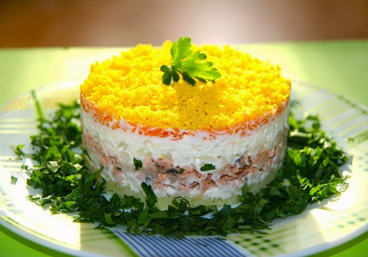 Салат мимоза (64 рецепта с фото) - рецепты с фотографиями на поварёнок.ру