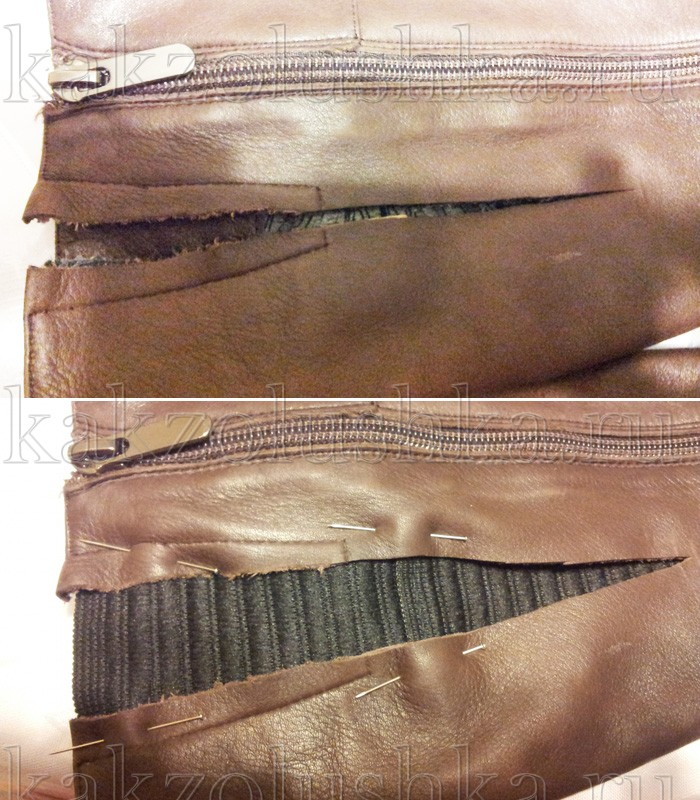 Как заменить пояс из эластичной ленты: мастер-класс