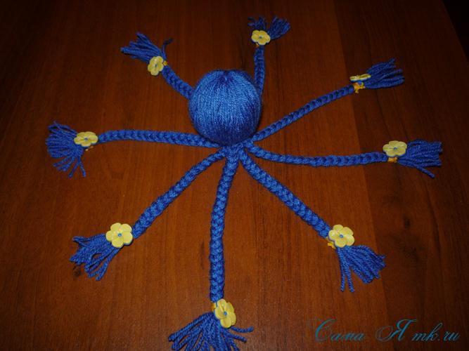 Игрушки из ниток своими руками: 155+ (фото) вязанных поделок