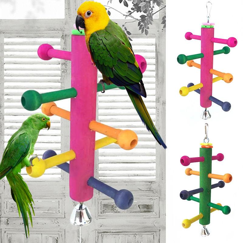 Игрушки для попугаев: волнистых и крупных, как сделать своими руками