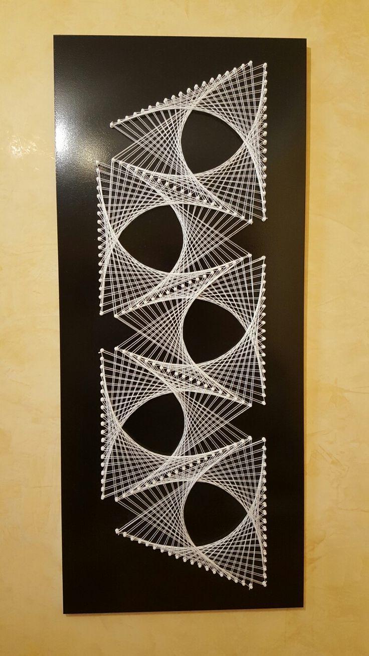 Стринг-арт в домашних условиях: как делать красивые картины из гвоздей и ниток