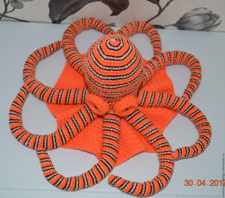Мягкая игрушка осьминог