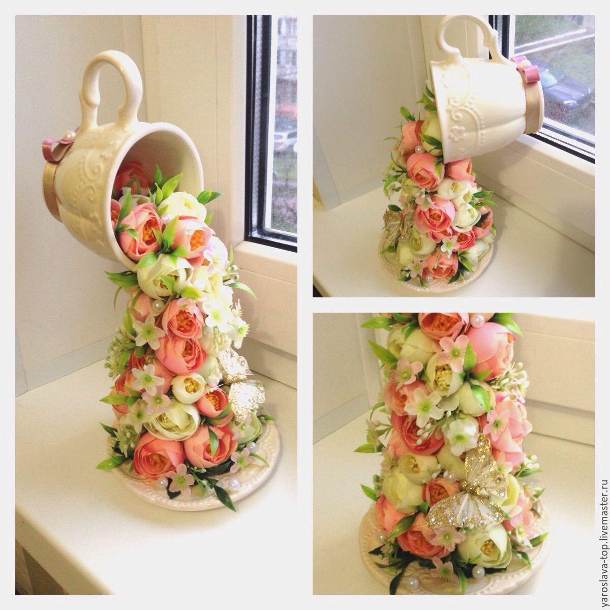 Кофейные поделки - креативные идеи изготовления красивых украшений и игрушек из зерен кофе (105 фото)