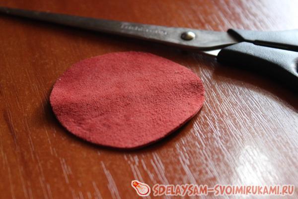 Резинки для волос из меха своими руками. резинка - цветок из кожи и меха. результат проделанной работы
