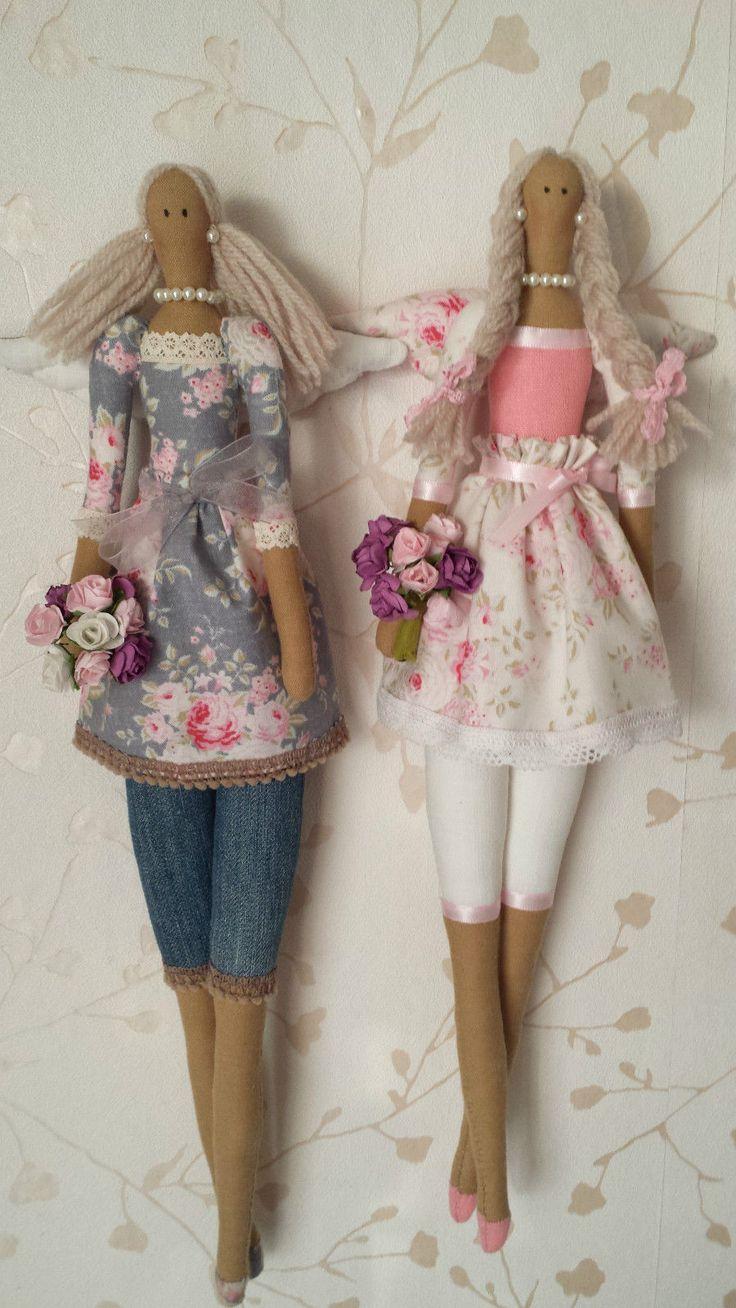 Кукла тильда: выкройка в натуральную величину