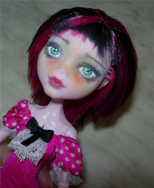 Ооак монстер хай до и после. демонесса ооак из старой куклы. для этого нам понадобятся