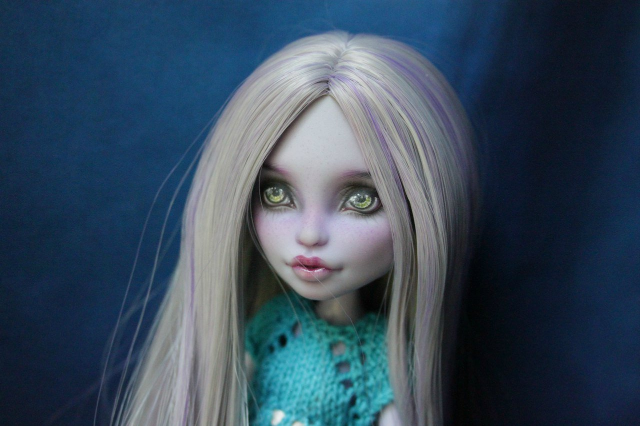 Как сделать ооак из куклы для начинающих. демонесса ооак из старой куклы. все что мне понадобилось