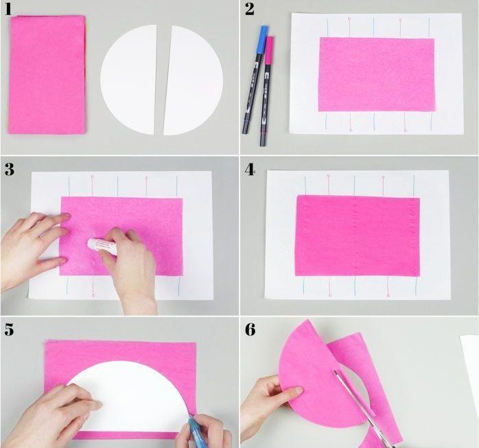Мяч из бумаги собрать без клея. объёмный мяч из бумаги