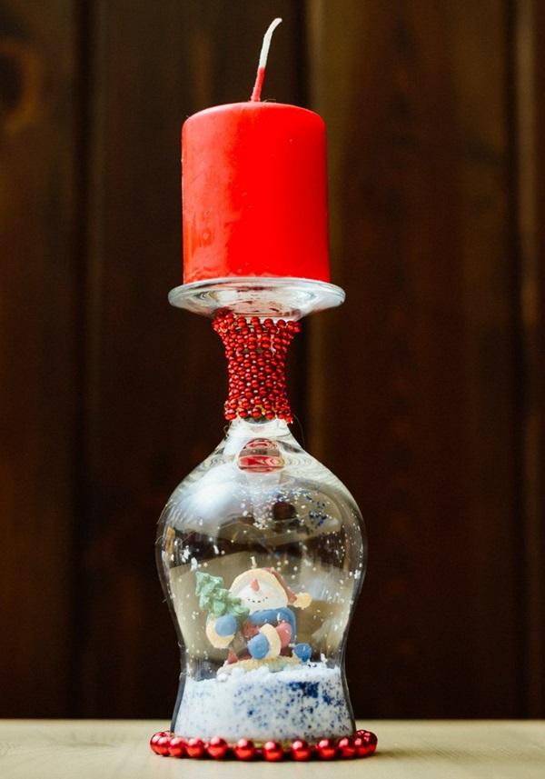 Подсвечник из бокала своими руками на новый год: пошагово подсвечник из бокала своими руками на новый год: пошагово