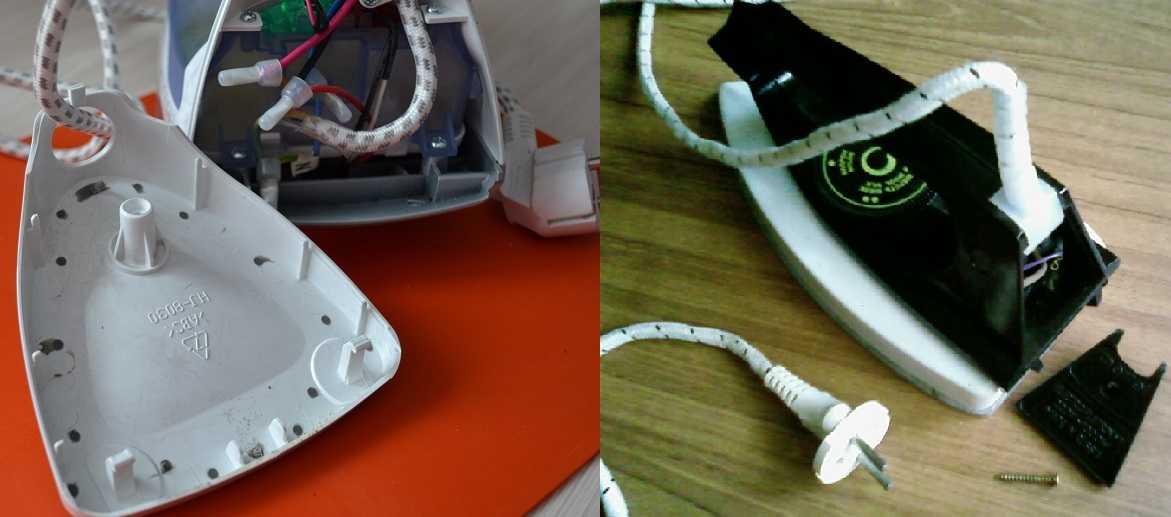 Устройство и принцип работы электрического утюга примеры ремонта